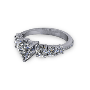 Beautiful multistone diamond ring