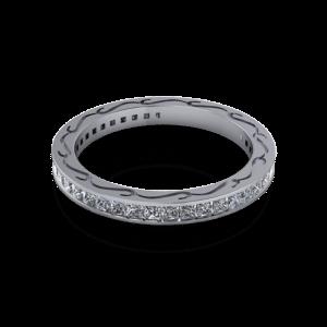 Pierced side eternity ring