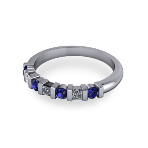 Contempoary eternity ring
