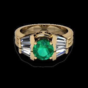 Art deco 3 ring set