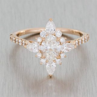 Custom engagement rings by Durham Rose