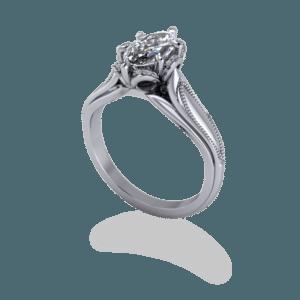 marquise, diamond, floral, ballerina, platinum