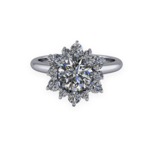 platinum, diamond, ballerina, snowflake, cluster