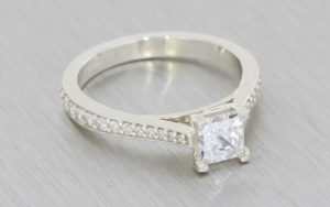 Classic Solitaire Engagement Ring  - Portfolio
