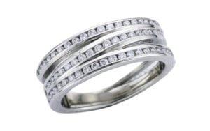 Channel set Wrap palladium ring set - Ring of the Week - Portfolio