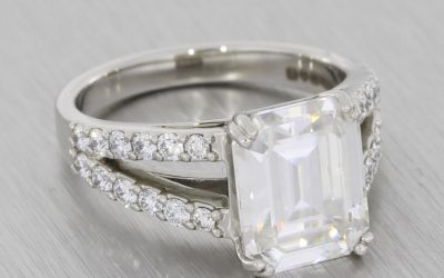 Moissanite vs Diamond: Everything You Need to Know for Your Custom Engagement Ring