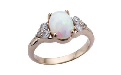 Are Opals a Good Stone for Your Custom Engagement Ring?